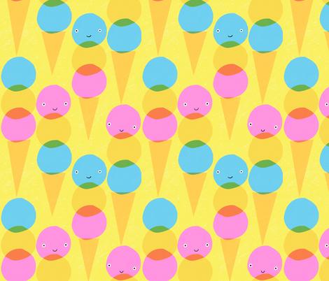 Ice creams fabric by anda on Spoonflower - custom fabric