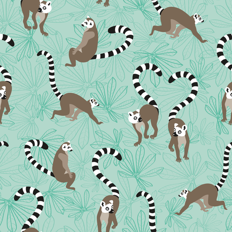 KattaMakiLove light fabric by kasumidesign on Spoonflower - custom fabric
