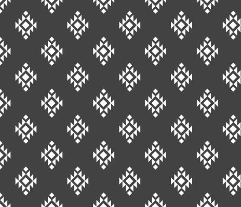 Tribal ethnic pattern fabric by danira on Spoonflower - custom fabric