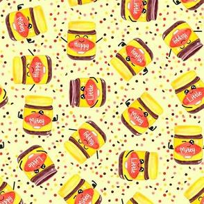 Happy Little & Mitey - yellow