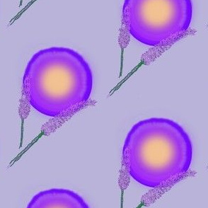 Lavender stippling-Purple SunBloom--