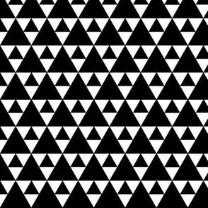 Triangles - black on white