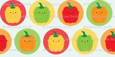 Kawaii Bell Peppers