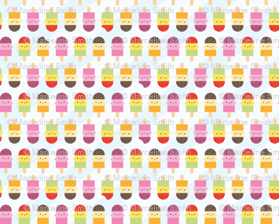 Kawaii Summer Ice Lollies / Popsicles