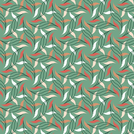 07532886 : arcrev6 : succulent fabric by sef on Spoonflower - custom fabric