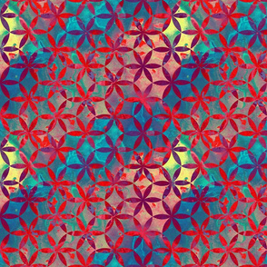 Flower-of-Life Paint Pattern 1