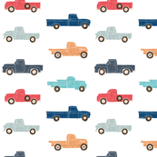 Vintage Trucks  (Large Scale)