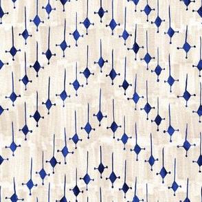 Justina chevron blue