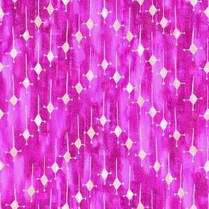 Justina chevron hot pink