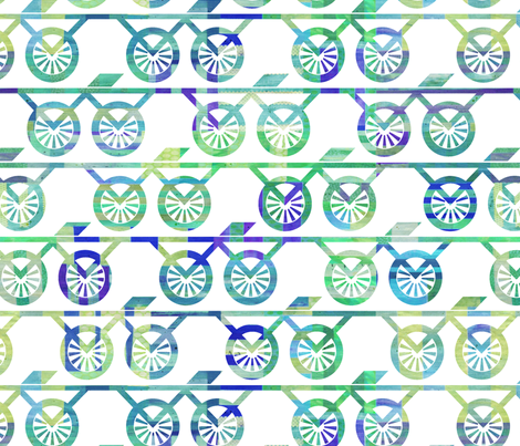 WithTheWind fabric by beckarahn on Spoonflower - custom fabric