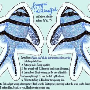 Banggai Cardinalfish Plushie