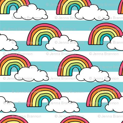 Rainbows Stripe