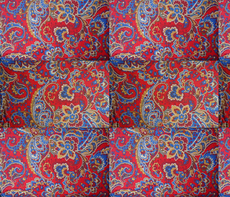 Fresh Prince Bel Air Paisley  fabric by dvowr on Spoonflower - custom fabric