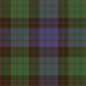 "1819 Stewart old clan tartan, 12"""
