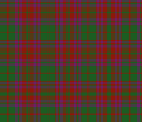 "Stewart of Urrard clan tartan, 6"" fabric by weavingmajor on Spoonflower - custom fabric"