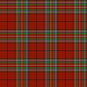 "Stewart of Galloway 1842 clan tartan, 6"""