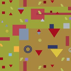 Bauhaus Inspiration Background