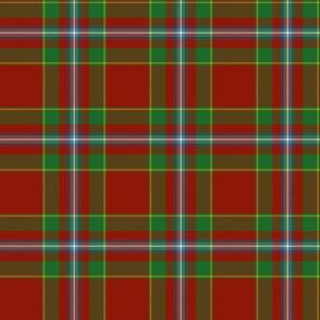 """Stewart of Fingask 1745 clan tartan, 6"""""""