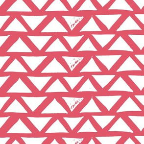 Hand Made Geometric Block Print