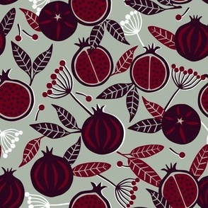 Pomegranates and Berries