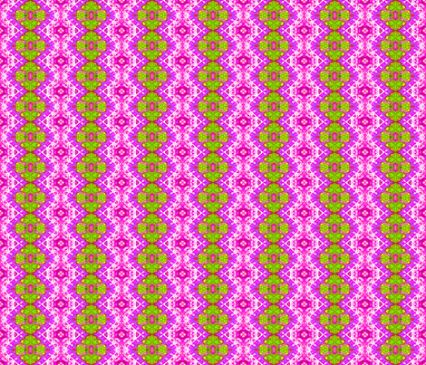 Lacy Diamonds & Green Medallions fabric by just_meewowy_design on Spoonflower - custom fabric
