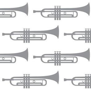 grey trumpets
