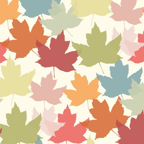 Magical Colorful Autumn Leaves 2