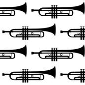 black trumpets