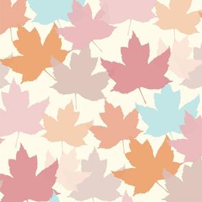 Magical Colorful Autumn Leaves 1