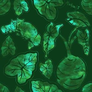 Kalo with logo green