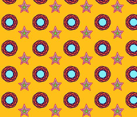 marrakeshdoublestar fabric by serenity_ii on Spoonflower - custom fabric