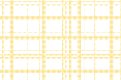 Mayberry Picnic Plaid buttercup fabric by lilyoake on Spoonflower - custom fabric