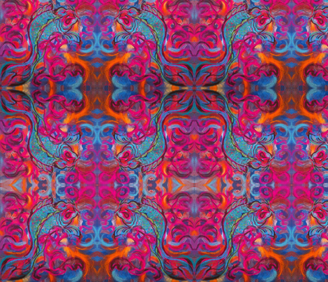 Koi Lucky fabric by shellygifford on Spoonflower - custom fabric