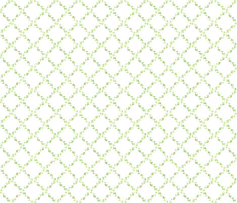 Ivy Trellis fabric by della_vita on Spoonflower - custom fabric