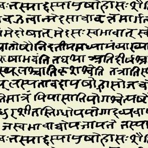 Sanskrit on Parchment // Small