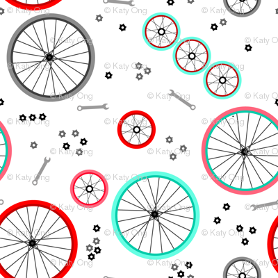 Bicycle Wheels and Gears