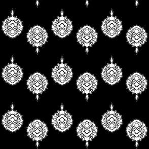 Blossom-Blackwhite