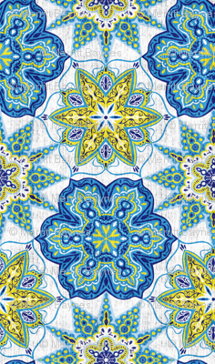 Moroccan Medallions - Textured