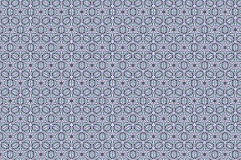 Muted Hexagon fractal burst fabric by glowstar on Spoonflower - custom fabric