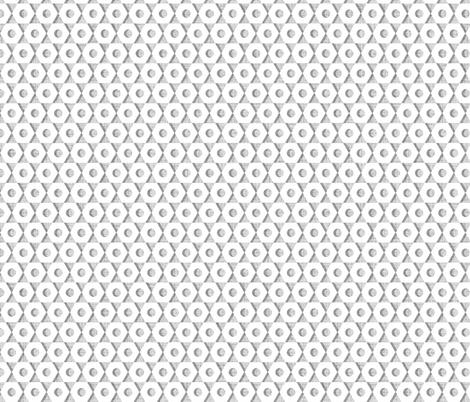 Wheel Nuts white fabric by spellstone on Spoonflower - custom fabric
