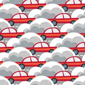 Papercut Cars