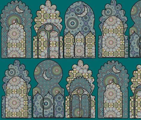 Marrakesh Arches  fabric by babyancestree on Spoonflower - custom fabric