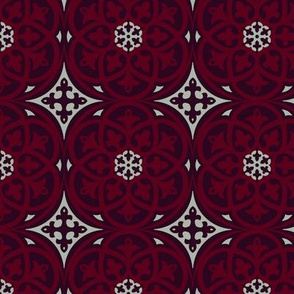Moroccan Lattice Elegant Holiday Limited Color Palette