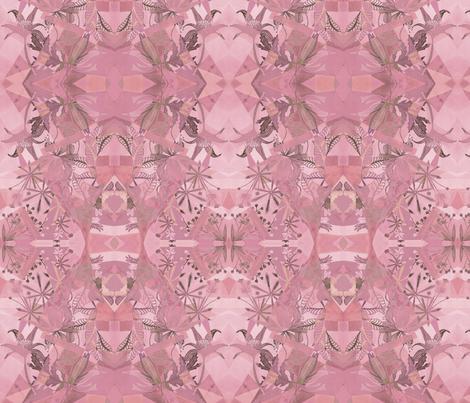 Wild Flowers Multipink fabric by rhea_evans on Spoonflower - custom fabric