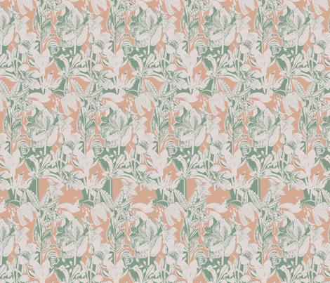 British Bloom 3 fabric by rhea_evans on Spoonflower - custom fabric