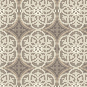 Moroccan Lattice Beige