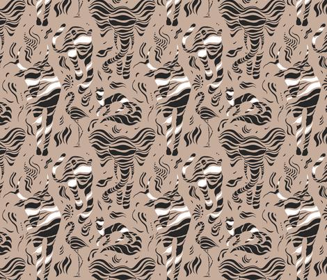 Wild animals fabric by katyau on Spoonflower - custom fabric