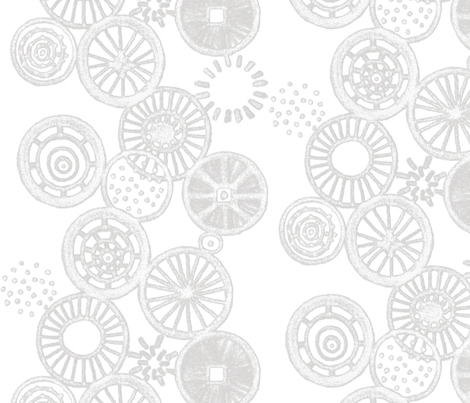 How many wheels does it take... by Su_G fabric by su_g on Spoonflower - custom fabric