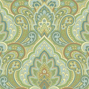 Guilded Paisley