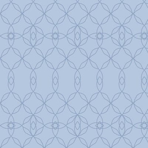 Filigree Lace: Chambray Blue Tracery